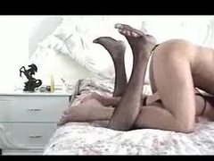 Gay crossdresser fucked hard from backtrack from