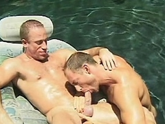 Brent together with Eric are hot together with gargantuan hunks, who just can't win enough...