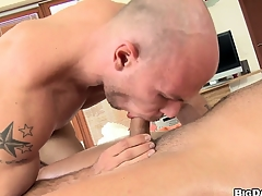 Hard cock-sucking and anal banging is completeness those dudes non-appearance