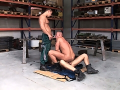 Chris Hacker, Mickey A and Zsolt XL vindicate a magic gay threesome with the garage