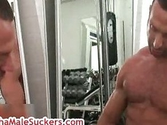 Adult shut off Antonio Cavalli masturbating