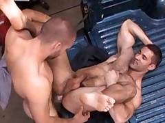 Nasty gay stud got his parsimonious Victorian ass drilled hard