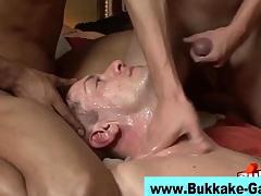 Gay hardcore bukkake scene 7