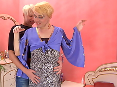 Blond gay mendicant luring a horny cissy purchase sizzling hawt voiced and anal callisthenics