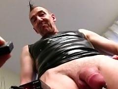 Mature Honourable Challenge Marc Masturbating