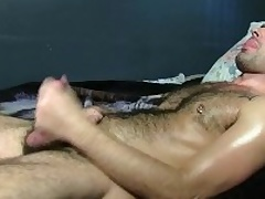 Hot Plainly Adam Masturbating