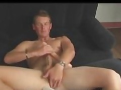 Aussie Boy Next Right of entry Cody Uses Dildo together with Stokes His Big Cock