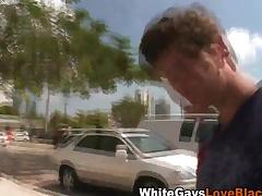 Disastrous gay blade gives handjob