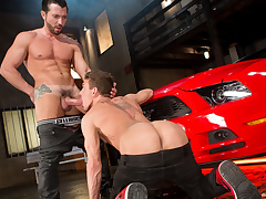 Jimmy Durano & Alexander Gustavo in Cruising Be required of Ass, Chapter 03 - RagingStallion