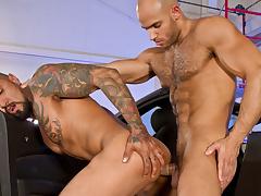 Auto Erotic, Part 2 XXX Video: Boomer Banks, Sean Zevran