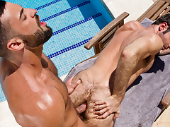 Gran Purview XXX Video: Abraham Al Malek & Dario Beck - FalconStudios